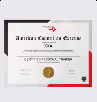 健身教练培训ACE-CPT