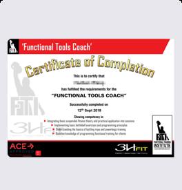 健身教练培训FTC证书