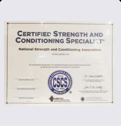 健身教练培训NSCA-CSCS
