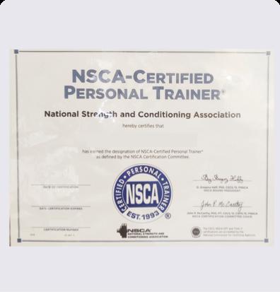 健身教练培训NSCA-CPT